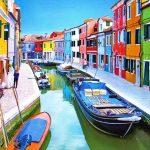 Burano Island, Venice a