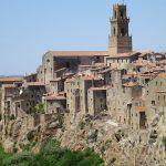 Sovana in Tuscany a