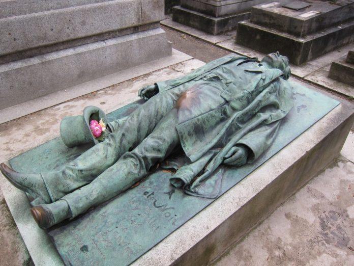 Victor Noir's Grave, Paris , France