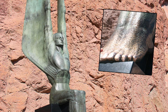 Winged Figures, Hoover Dam