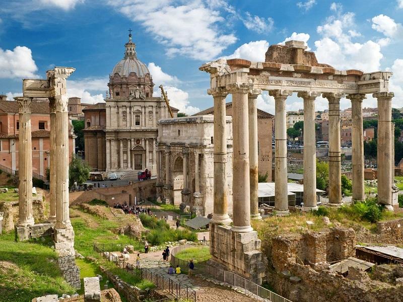 Forum Romanum 2000 Piece Puzzle Roman Forum Rome, Italy by