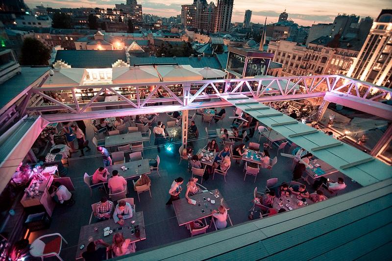 The 10 Best Rooftop Bars in Kiev