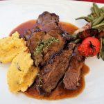 Polenta and Braised Beef