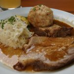 Pork with Dumplings and Cabbage