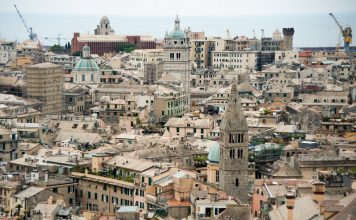 Old City Of Genoa