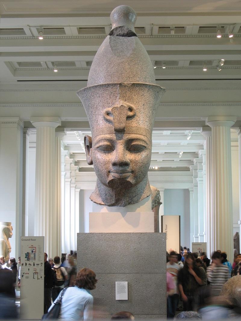 Colossal Head of Amenhotep III
