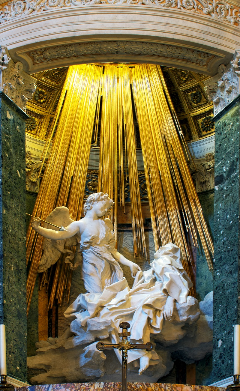 Ecstasy of Saint Teresa Sculpture