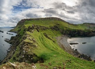 View from Rubha nam Brathairean, Isle of Skye