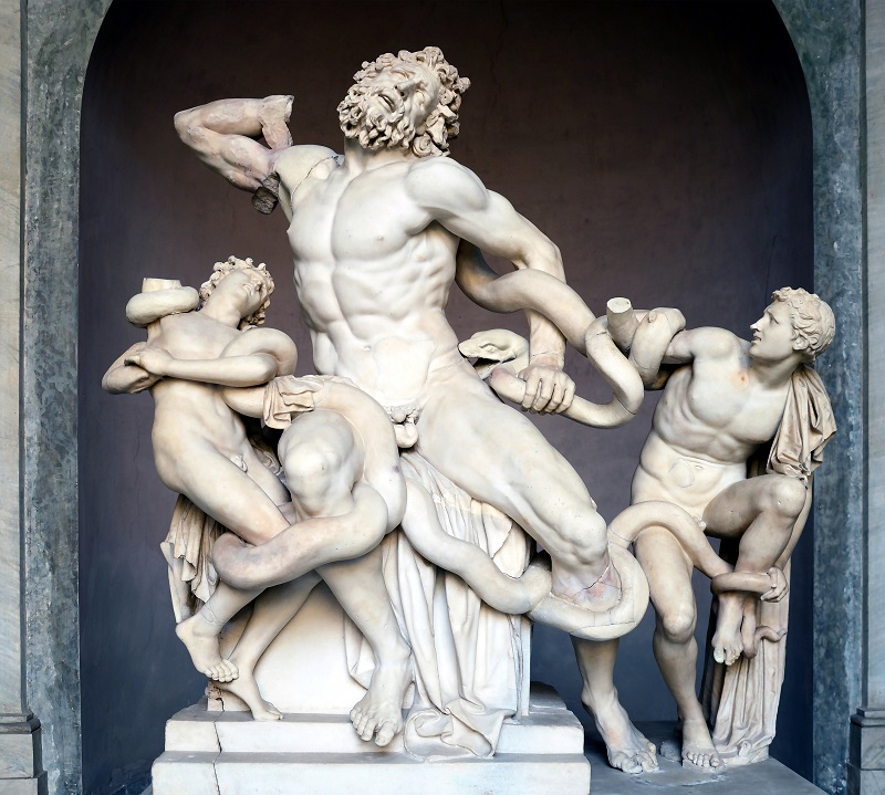 Laocoön and His Sons Sculpture