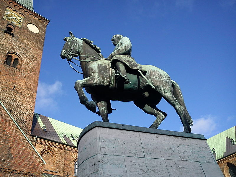 The Equestrian Statue of Christian X