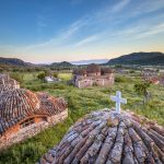 Limonos hills sunrise Lesbos
