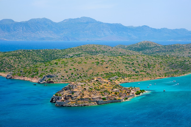 Island of Spinalonga, Crete, Greece
