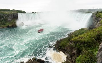 Niagara Falls from the Ontario Canadian side